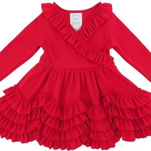 "LEMON LOVES LAYETTE ""GRACE"" TRUE RED DRESS"